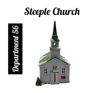 Department 56 ~ Steeple Church ~ New England